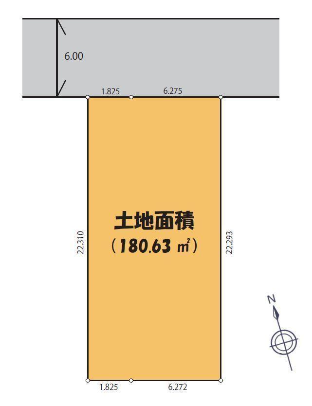 間取図/区画図:区画図
